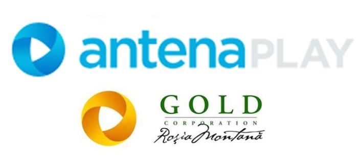 Logo-ul antena play e acelasi cu logo-ul RMGC. Coincidenta sau prostie?