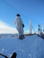 furry skier