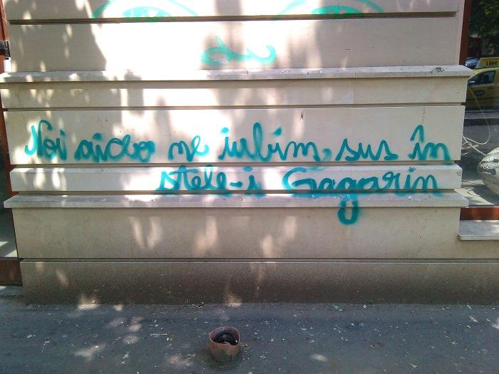 Gagarin si dragostea