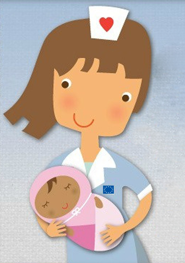 Cat castiga o asistenta medicala in Europa?
