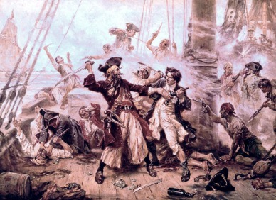 Scene of Detainment for Blackbeard