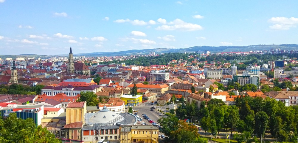 Put your hands up for Cluj, a lovely city!