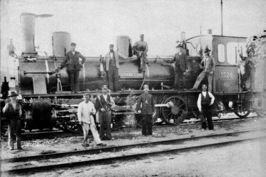 tren secolul 19