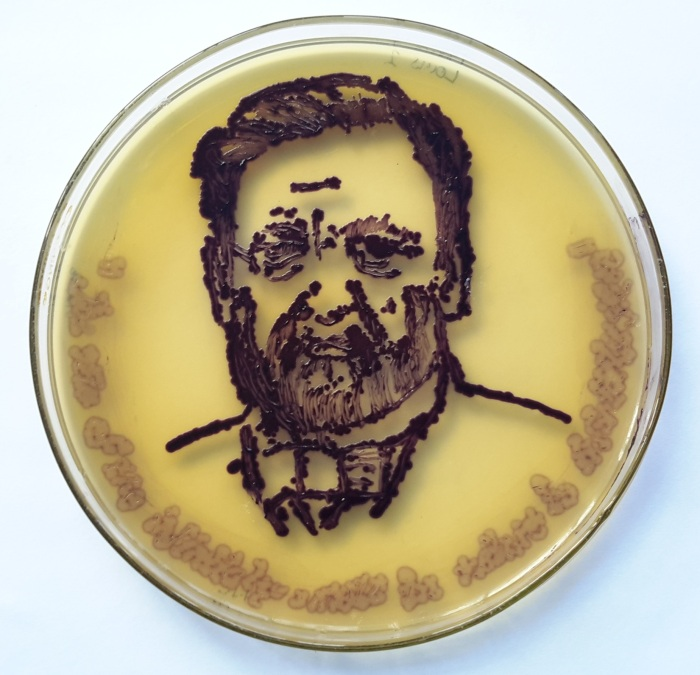 Chromobacterium violaceum => Louis Pasteur