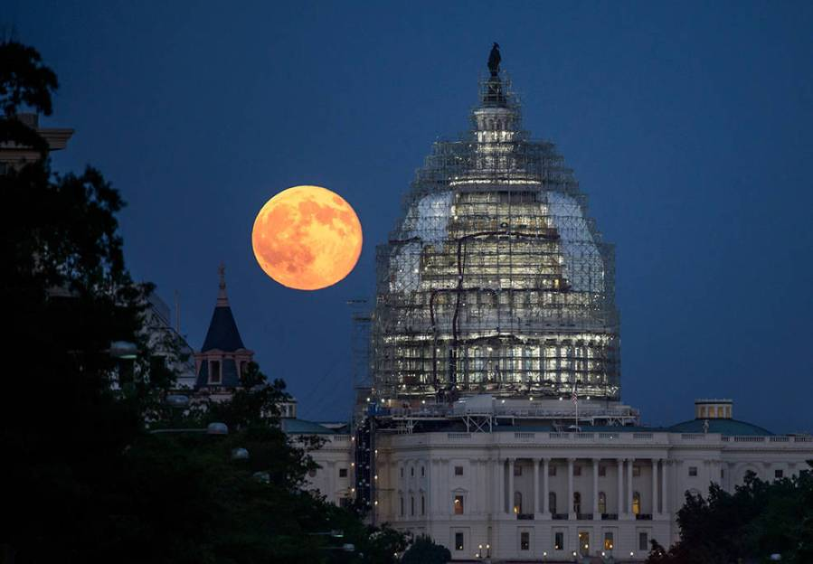 U.S. Capitol, 31 iulie 2015, Washington. (NASA/Bill Ingalls)