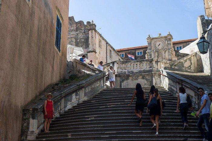 scari in Dubrovnik