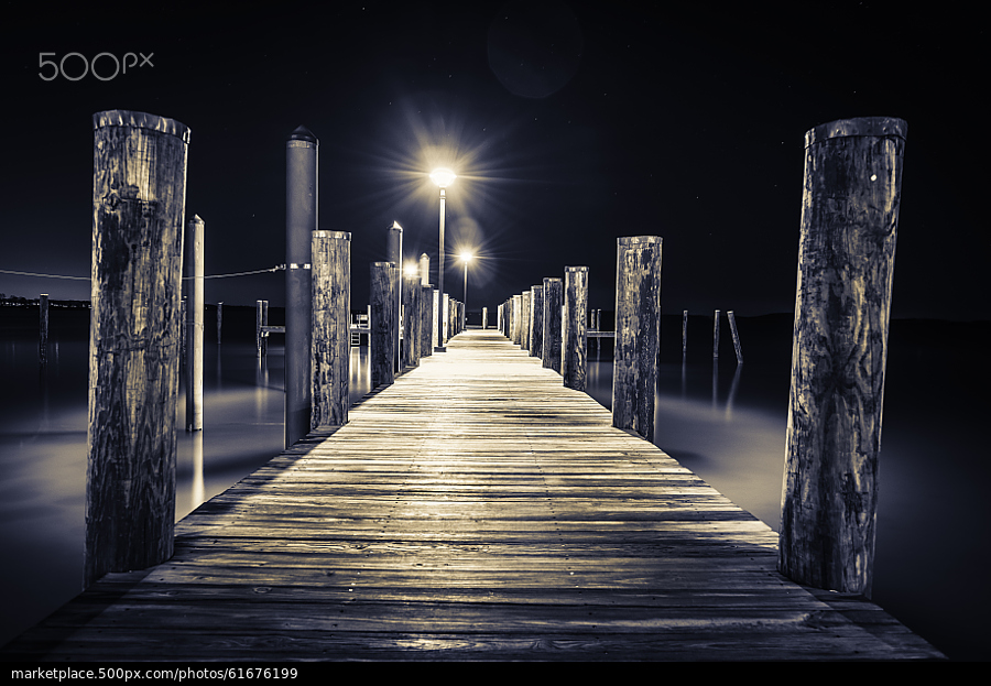 500px Photo ID: 61676199 - The Blue Dock