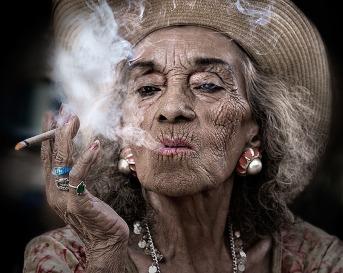 old black woman